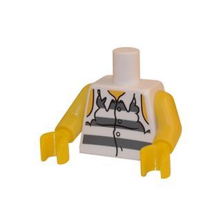 LEGO LSK020 - LEGO Alkatrészek - Minifigura torzó (020)