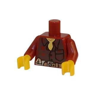 LEGO LSK023 - LEGO alkatrész - Minifigura torzó