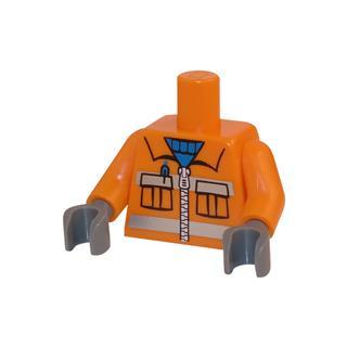 LEGO LSK024 - LEGO Alkatrészek - Minifigura torzó (024)
