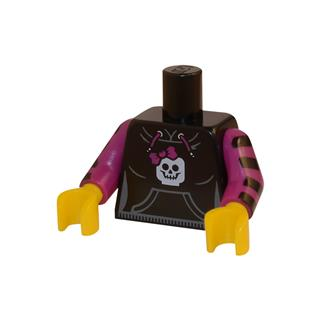 LEGO LSK026 - LEGO alkatrész - Minifigura torzó