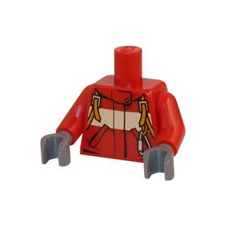 LEGO LSK028 - LEGO Alkatrészek - Minifigura torzó (028)
