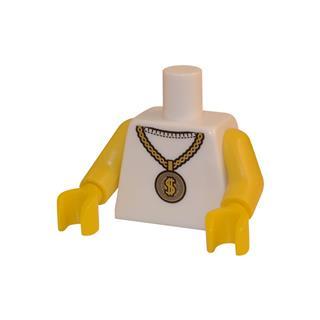 LEGO LSK030 - LEGO Alkatrészek - Minifigura torzó (030)