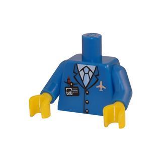 LEGO LSK032 - LEGO Alkatrészek - Minifigura torzó (032)