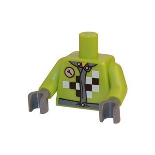 LEGO LSK033 - LEGO Alkatrészek - Minifigura torzó (033)