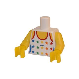 LEGO LSK034 - LEGO Alkatrészek - Minifigura torzó (034)