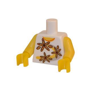 LEGO LSK035 - LEGO Alkatrészek - Minifigura torzó (035)