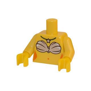 LEGO LSK036 - LEGO Alkatrészek - Minifigura torzó (036)