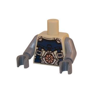 LEGO LSK040 - LEGO alkatrész - Minifigura torzó