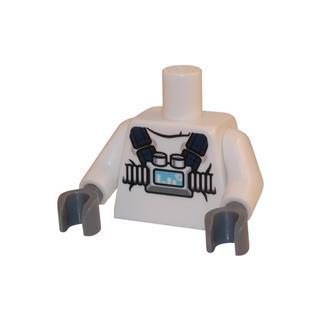 LEGO LSK041 - LEGO Alkatrészek - Minifigura torzó (041)