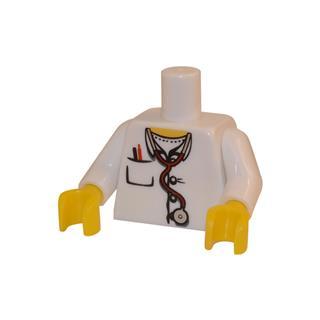 LEGO LSK043 - LEGO Alkatrészek - Minifigura torzó (043)