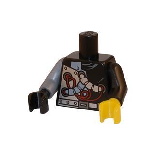 LEGO LSK044 - LEGO alkatrész - Minifigura torzó