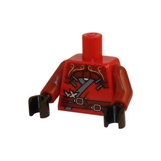 LEGO LSK059 - LEGO alkatrész - Minifigura torzó