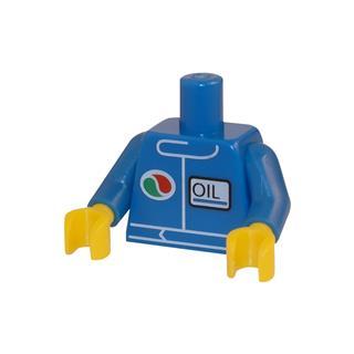 LEGO LSK062 - LEGO Alkatrészek - Minifigura torzó (062)