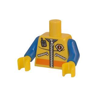 LEGO LSK063 - LEGO alkatrész - Minifigura torzó