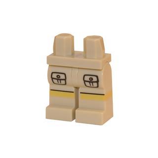 LEGO LSK097 - LEGO Alkatrészek - Minifigura láb (097)