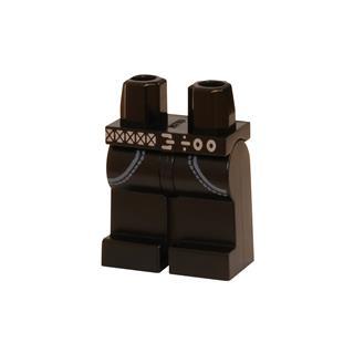LEGO LSK100 - LEGO Alkatrészek - Minifigura láb (100)