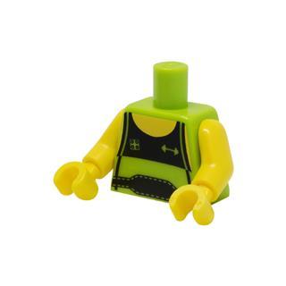 LEGO LSK1014 - LEGO alkatrész - Minifigura torzó
