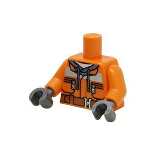 LEGO LSK1016 - LEGO alkatrész - Minifigura torzó