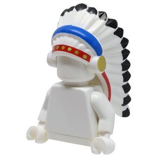 LEGO LSK1034 - LEGO Alkatrészek - Minifigura fejfedő (1034)