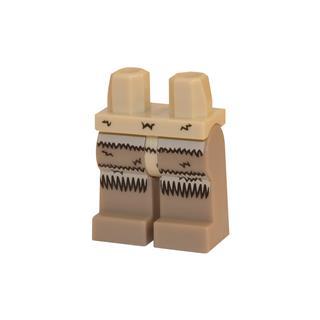 LEGO LSK104 - LEGO Alkatrészek - Minifigura láb (104)