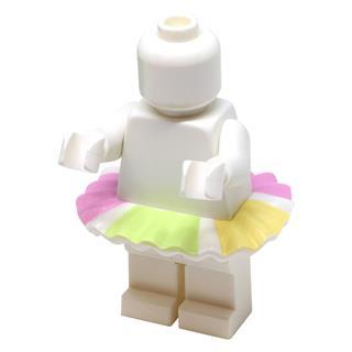 LEGO LSK1043 - LEGO Alkatrészek - Színes tütü (1043)