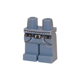 LEGO LSK105 - LEGO alkatrész - Minifigura láb