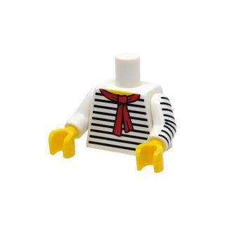 LEGO LSK1065 - LEGO Alkatrészek - Minifigura torzó (1065)