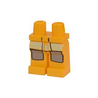 LEGO LSK107 - LEGO Alkatrészek - Minifigura láb (107)
