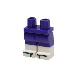 LEGO LSK1071 - LEGO alkatrész - Minifigura láb (1071)