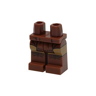 LEGO LSK1072 - LEGO Alkatrészek - Minifigura láb (1072)