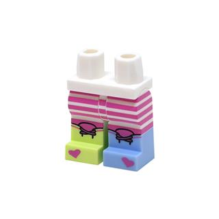 LEGO LSK1075 - LEGO alkatrész - Minifigura láb (1075)