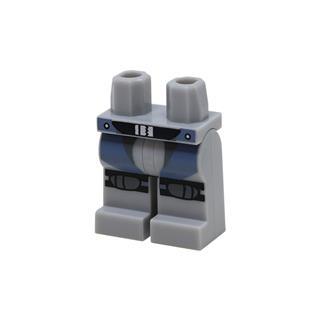 LEGO LSK1076 - LEGO Alkatrészek - Minifigura láb (1076)