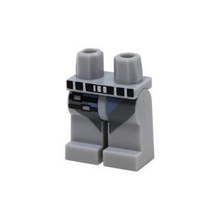 LEGO LSK1077 - LEGO Alkatrészek - Minifigura láb (1077)