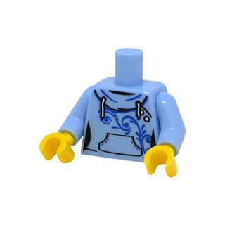 LEGO LSK1095 - LEGO alkatrész - Minifigura torzó (1095)