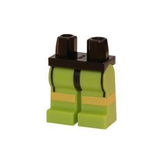 LEGO LSK110 - LEGO Alkatrészek - Minifigura láb (110)