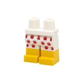 LEGO LSK1101 - LEGO Alkatrészek - Minifigura láb (1101)