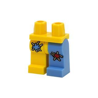LEGO LSK1102 - LEGO alkatrész - Minifigura láb (1102)