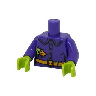 LEGO LSK1114 - LEGO Alkatrészek - Minifigura láb (1114)