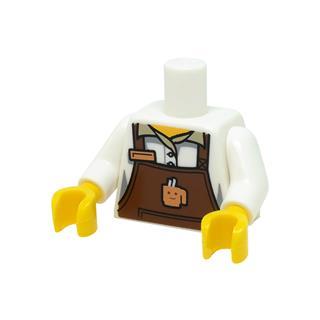 LEGO LSK1127 - LEGO Alkatrészek - Minifigura láb (1127)
