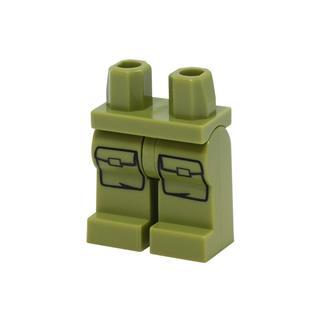 LEGO LSK1131 - LEGO alkatrész - Minifigura láb (1131)