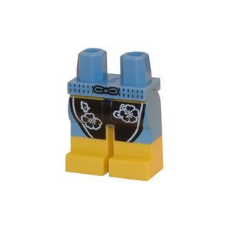 LEGO LSK114 - LEGO alkatrész - Minifigura láb