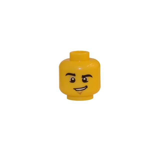 LEGO LSK117 - LEGO Alkatrészek - Minifigura fej (117)