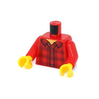 LEGO LSK1177 - LEGO alkatrész - Minifigura torzó