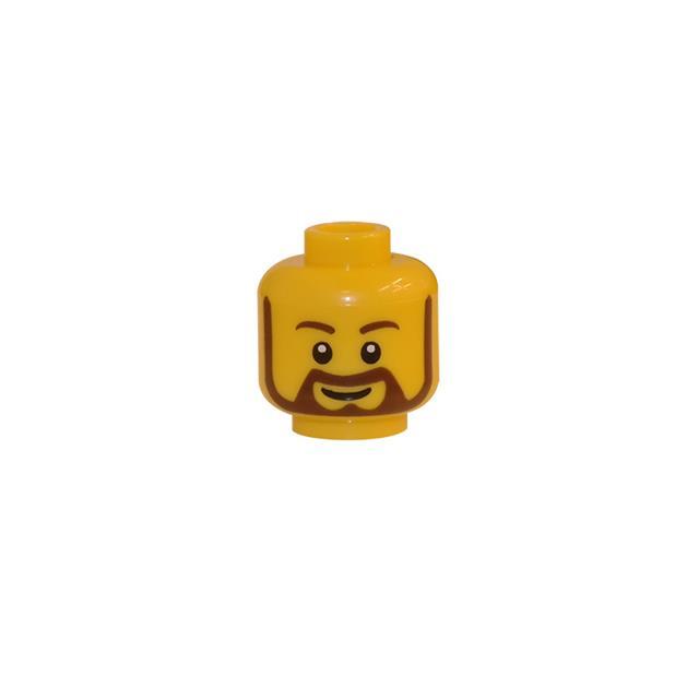 LEGO LSK118 - LEGO Alkatrészek - Minifigura fej (118)