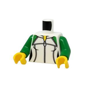 LEGO LSK1185 - LEGO alkatrész - Minifigura torzó (1185)