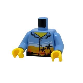 LEGO LSK1186 - LEGO Alkatrészek - Minifigura torzó (1186)