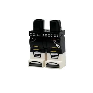 LEGO LSK1194 - LEGO alkatrész - Minifigura láb (1194)