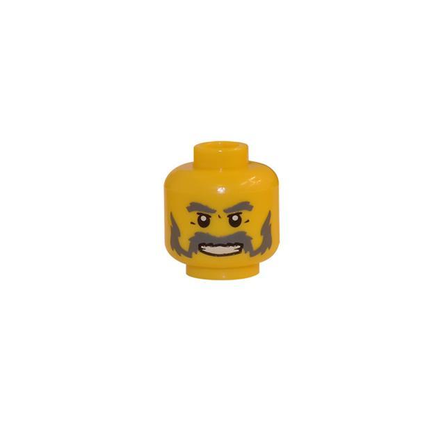 LEGO LSK120 - LEGO Alkatrészek - Minifigura fej (120)