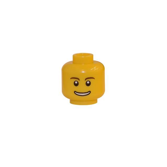 LEGO LSK122 - LEGO Alkatrészek - Minifigura fej (122)