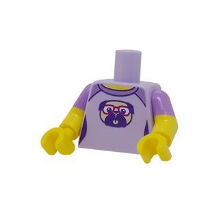 LEGO LSK1227 - LEGO alkatrész - Minifigura láb